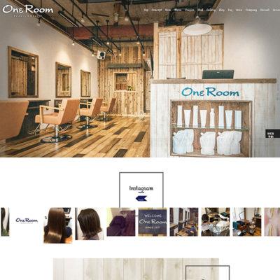 OneRoom様公式ホームページサムネイル